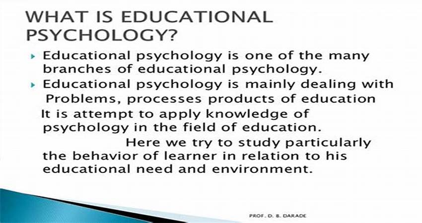 What Is Educational Psychology For?